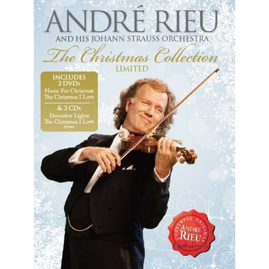 Andre Rieu CHRISTMAS COLLECTION CD