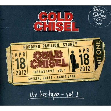 Cold Chisel LIVE TAPES: HORDERN PAVILION APRIL 18 2012: 1 CD