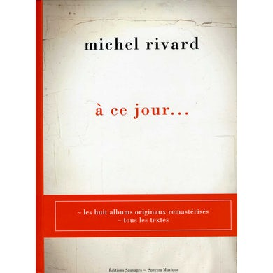 Michel Rivard ANTHOLOGIE CD
