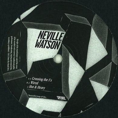 Neville Watson HOT & HEAVY EP Vinyl Record