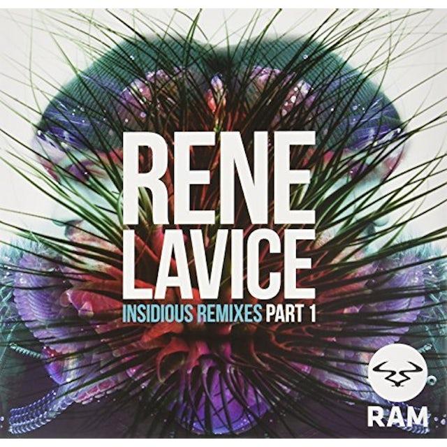 Renee Lavice INSIDIOUS REMIXES PART I Vinyl Record