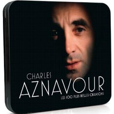 Charles Aznavour LES 100 PLUS BELLES CHANSONS CD