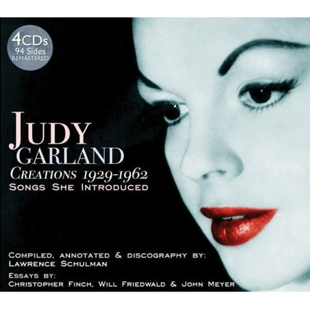 Judy Garland CREATIONS 1929-62 CD