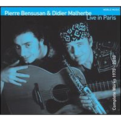 Pierre Bensusan LIVE IN PARIS CD