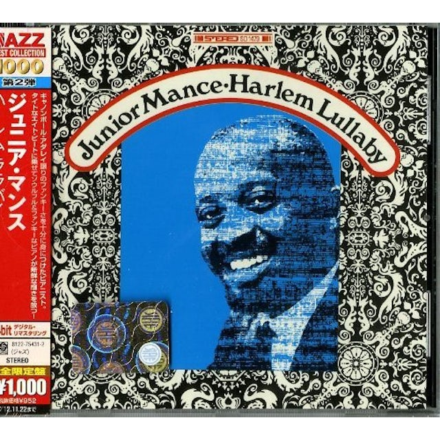 Junior Mance HARLEM LULLABY CD
