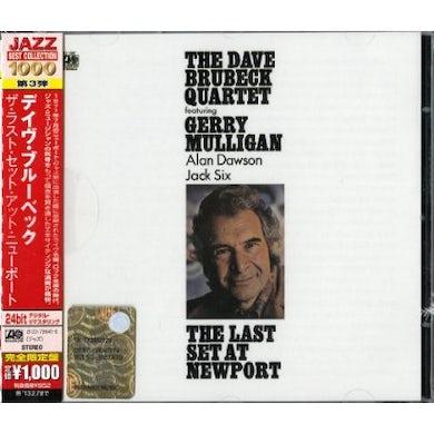 Dave Quartet Brubeck LAST SET AT NEWPORT CD