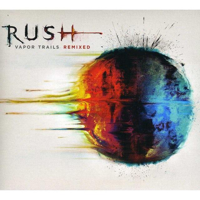 Rush VAPOR TRAILS REMIXED CD