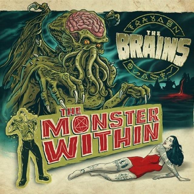 Brains MONSTER WITHIN CD