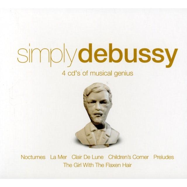 C. Debussy SIMPLY DEBUSSY CD