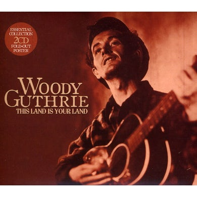 Woody Guthrie THIS LAND IS YOUR LAND CD