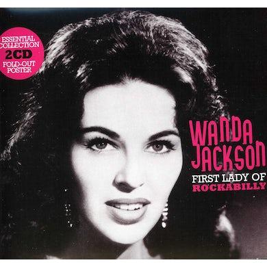 Wanda Jackson FIRST LADY OF ROCKABILLY CD