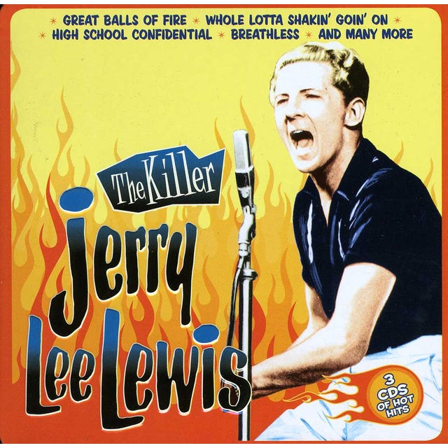 Jerry Lee Lewis KILLER CD
