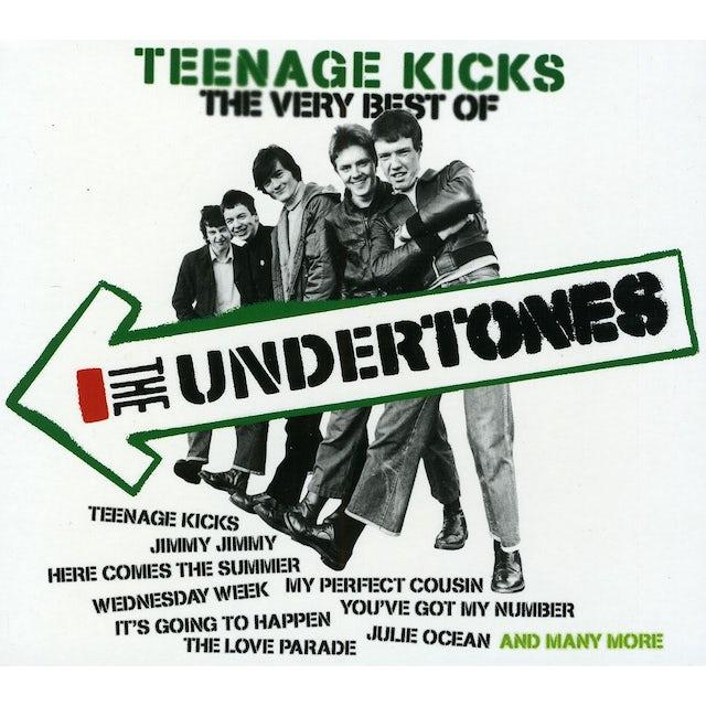 TEENAGE KICKS THE VERY BEST OF UNDERTONES CD