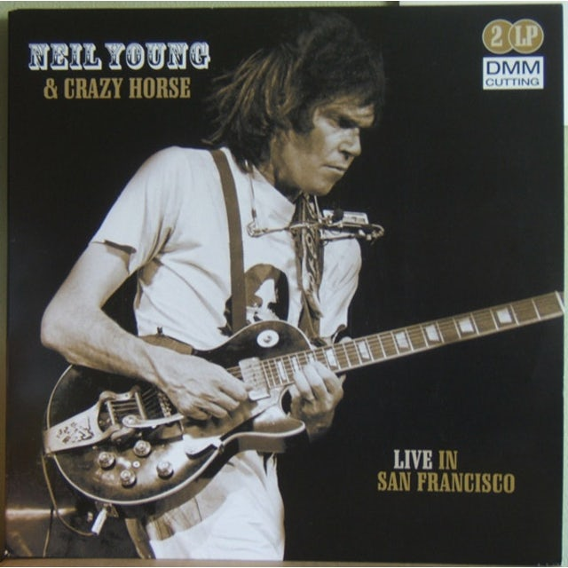 Neil Young LIVE IN SAN FRANCISCO Vinyl Record - Holland Release