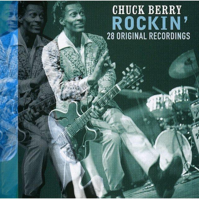Chuck Berry ROCKIN-28 ORIGINAL RECORDINGS CD