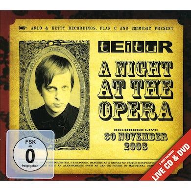 Teitur A NIGHT AT THE OPERA CD