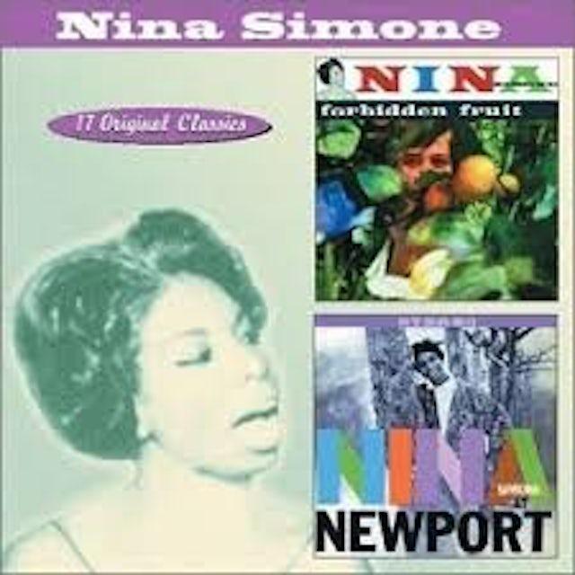 Nina Simone AT NEWPORT/FORBIDDEN FRUIT Vinyl Record