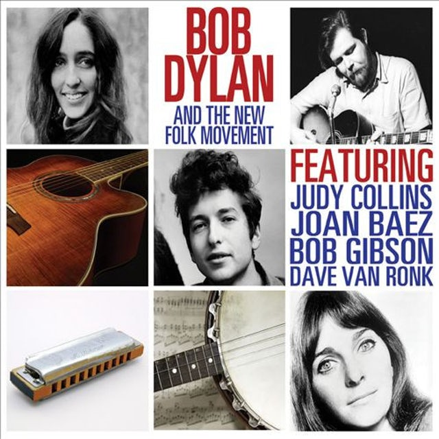 Bob Dylan THE NEW FOLK MOVEMENT Vinyl Record
