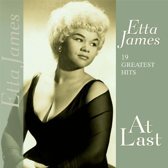 Etta James 19 GREATEST HITS-AT LAST Vinyl Record