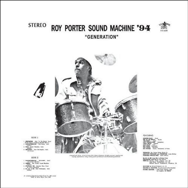 Roy Sound Machine '94 Porter GENERATION Vinyl Record - UK Release