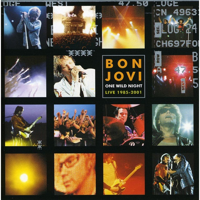 Bon Jovi ONE WILD NIGHT CD