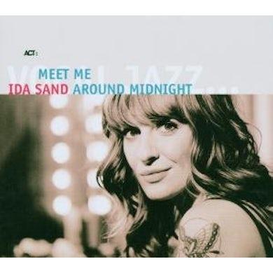 Ida Sand MEET ME AROUND MIDNIGHT CD