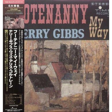 Terry Gibbs HOOTENANNY MY WAY Vinyl Record - Japan Release