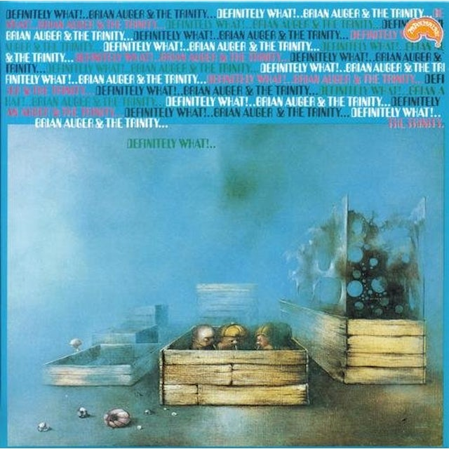 Brian Auger DEFINITELY WHAT CD