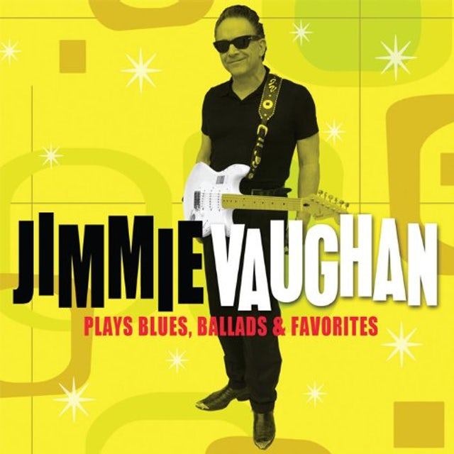 Jimmie Vaughan PLAYS BLUES BALLADS & FAVORIT CD