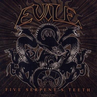 Evile FIVE SERPENT'S TEETH CD