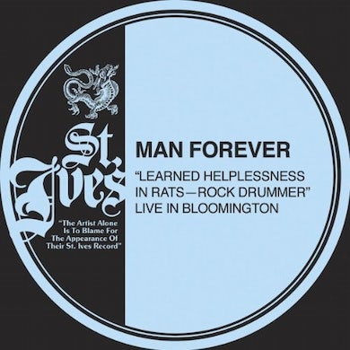 Man Forever LEARNED HELPLESSNESS IN RATS Vinyl Record