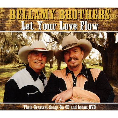 Bellamy Brothers LET YOUR LOVE FLOW CD