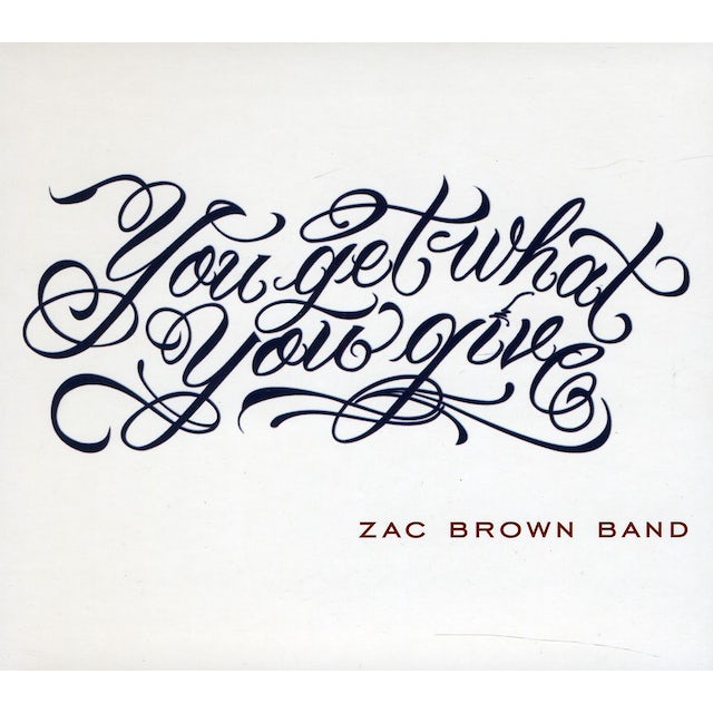 Zac Brown Band You Get What You Give 2011 New Version Cd