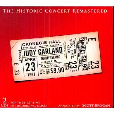 Judy Garland HISTORIC CARNEGIE HALL CONCERT CD