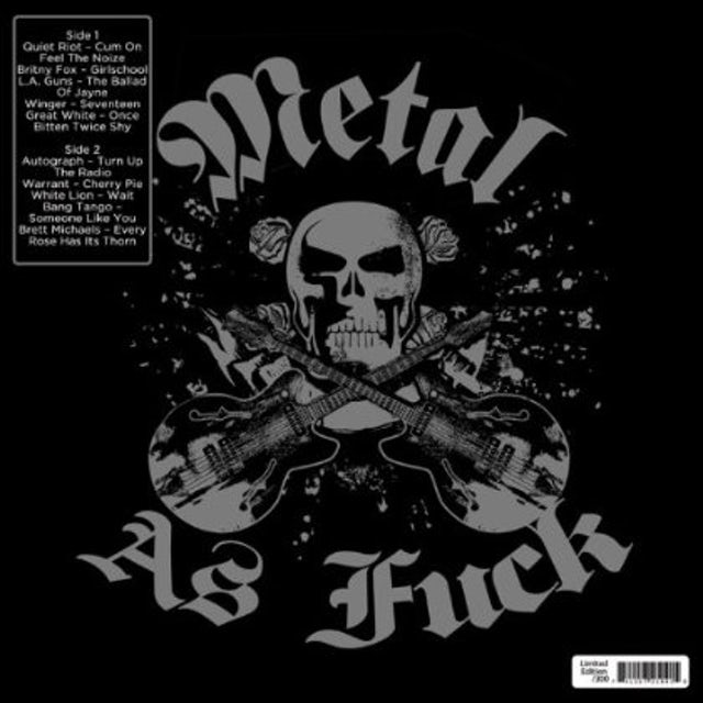 Metal As Fuck / Various Vinyl Record