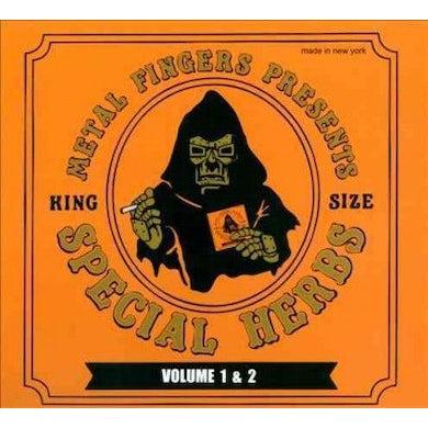 MF DOOM SPECIAL HERBS 1 & 2 CD