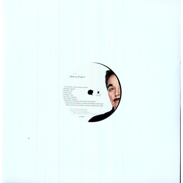 Laurie Anderson ONLY AN EXPERT Vinyl Record