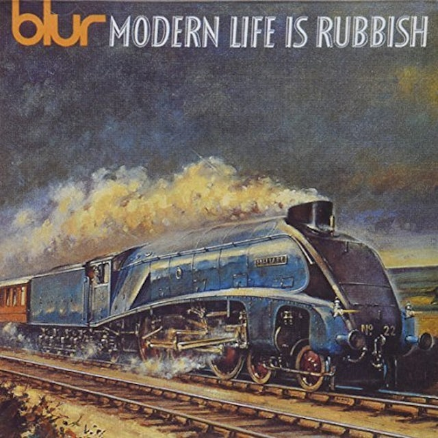 Blur MODERN LIFE IS RUBBISH CD