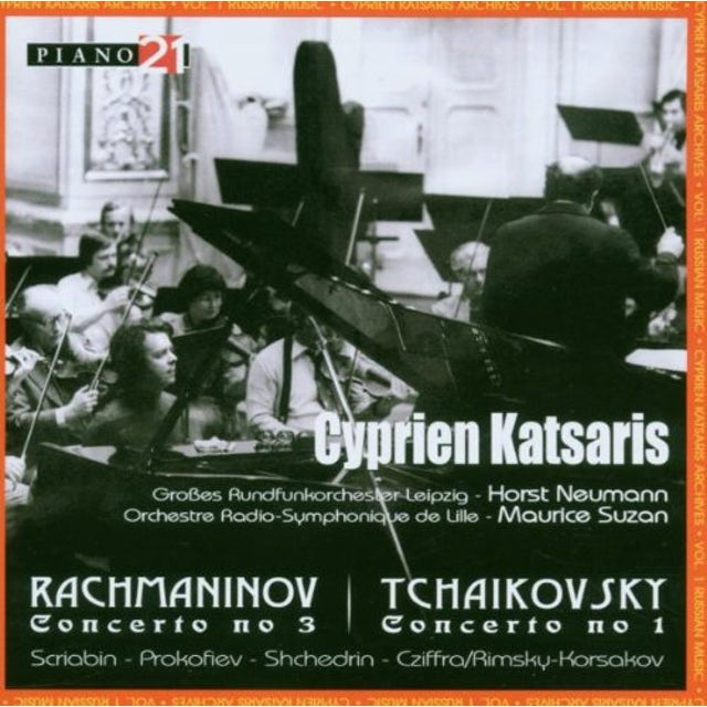 Rachmaninov CYPRIEN KATSARIS ARCHIVES VO CD