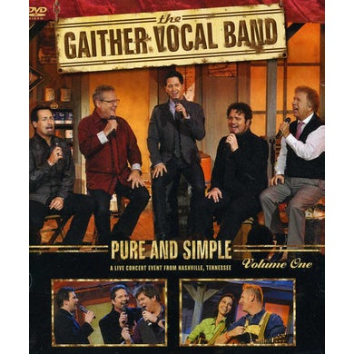 Gaither Vocal Band PURE & SIMPLE VOLU DVD