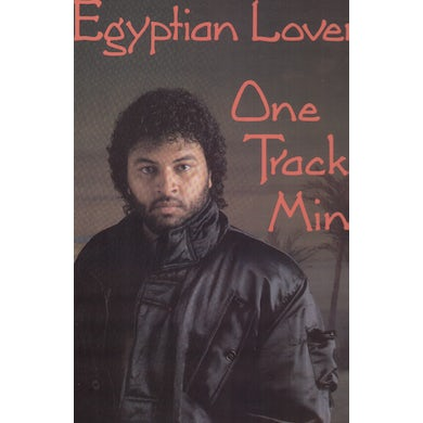 Egyptian Lover ONE TRACK MIND Vinyl Record