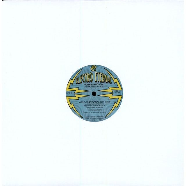 Ronnie Hudson WEST COAST POP LOCK Vinyl Record