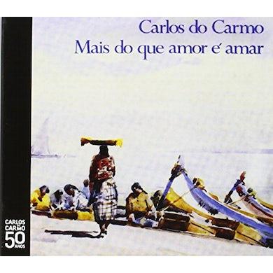Carlos do Carmo MAIS QUE AMOR E AMAR CD