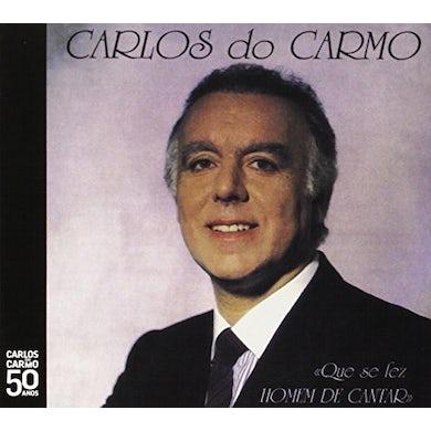 Carlos do Carmo QUE SE FEZ HOMEM DE CANTAR CD