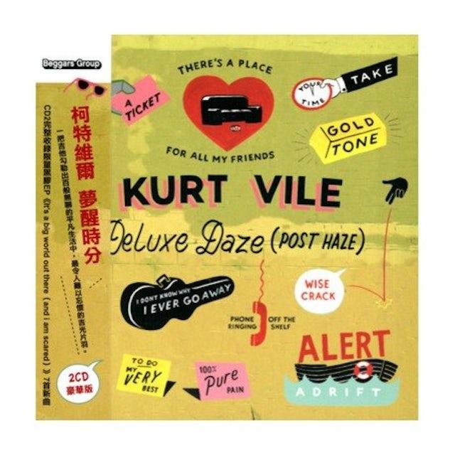 Kurt Vile WALKIN ON A PRETTY DAZE: DELUXE DAZE (POST HAZE) CD