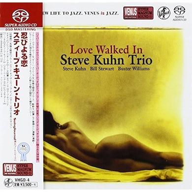 Steve Kuhn LOVE WALKED IN Super Audio CD