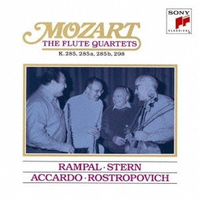 Jean-Pierre Rampal MOZART: THE FLUTE QUARTETS CD