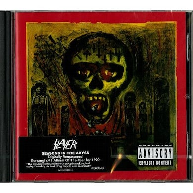 Slayer SEASONS IN THE ABYSS CD