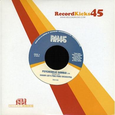 Shawn Ping Pong Orchestra B/W Betty Wright Lees PSYCHEDELIC SAMBAI B/W MAN OF MINE Vinyl Record