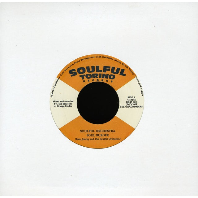 Soulful Torino Orchestra SOULBURGER Vinyl Record